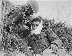 Wounded, 1918
