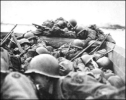 Crossing The Rhine, 1945